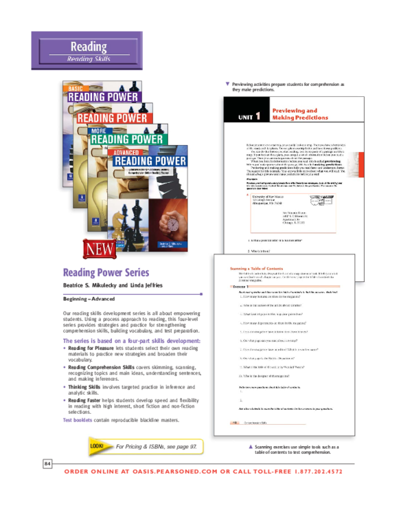 Pdf Reading Power Series Pearson English Abdulrahman Hejazi Academia Edu