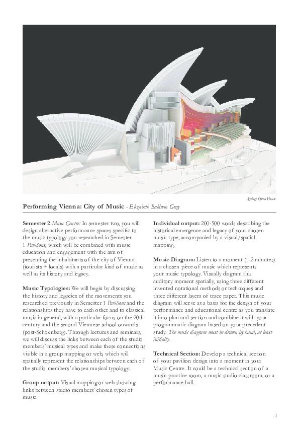 PDF) Stage 5 Studio - Performing Vienna - City of Music Brief ...