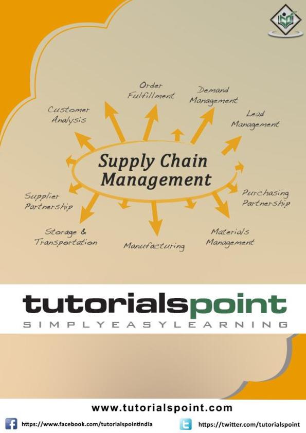 PDF) Supply chain management tutorial | usha rani - Academia edu