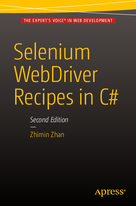 PDF) Selenium WebDriver Recipes in C# | duy tran - Academia edu