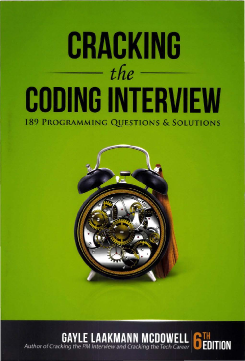 PDF) Cracking the Coding Interview, 6th Edition 189