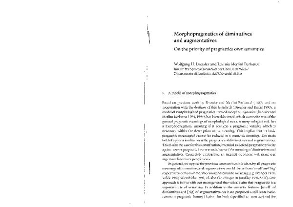 the acquisition of diminutives savickiene ineta dressler wolfgang u