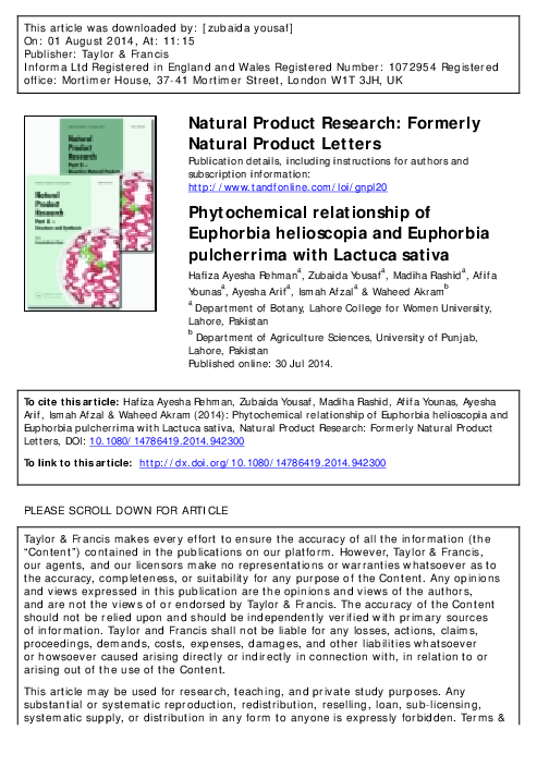 PDF) Year2014Rehmanetal pdf | Afifa Younas - Academia edu
