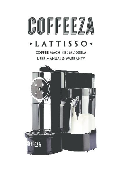 PDF) Coffeeza-Espresso-Coffee-Machine-India-Online-User Manual.pdf ...