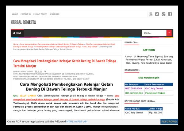 (PDF) Cara Mengobati Pembengkakan Kelenjar Getah Bening Di ...
