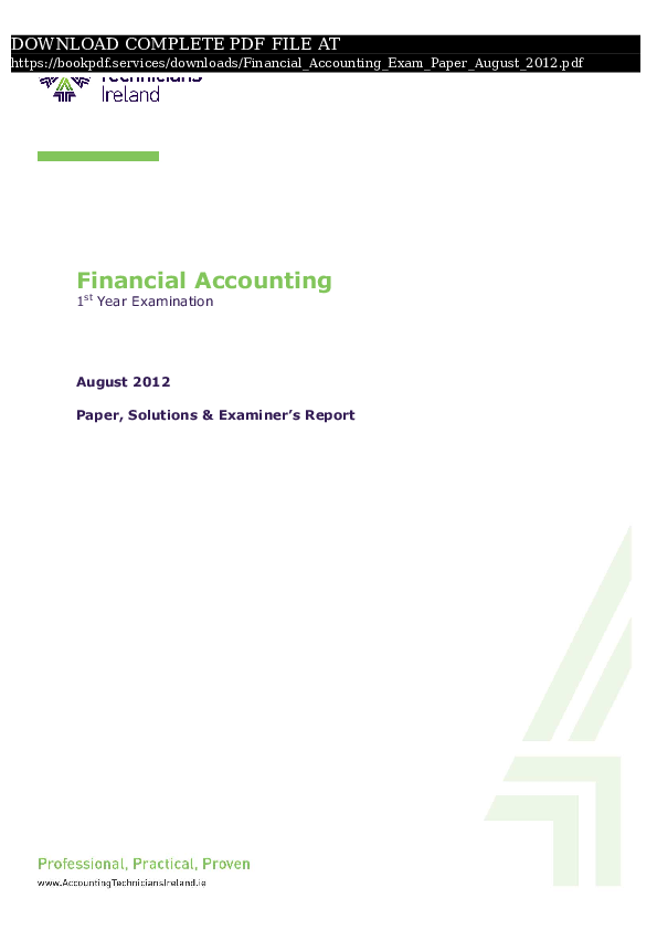 PDF) financial-accounting-exam-paper-august-2012-pdf_8386731 pdf