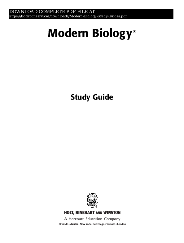 PDF) modern-biology-study-guides-pdf_6942813 pdf   book