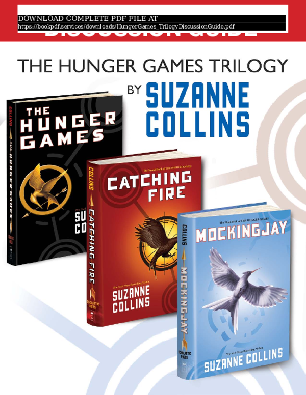 Hunger Games Book 3 Mockingjay Pdf