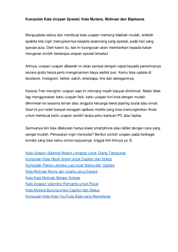 Kata Kata Mutiara Pdf