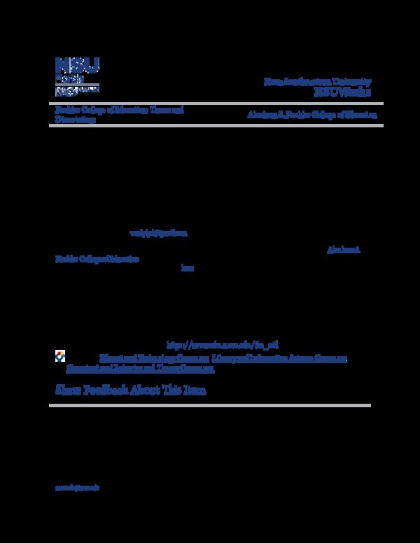 PDF) A Bibliometric analysis of the Proceedings of the