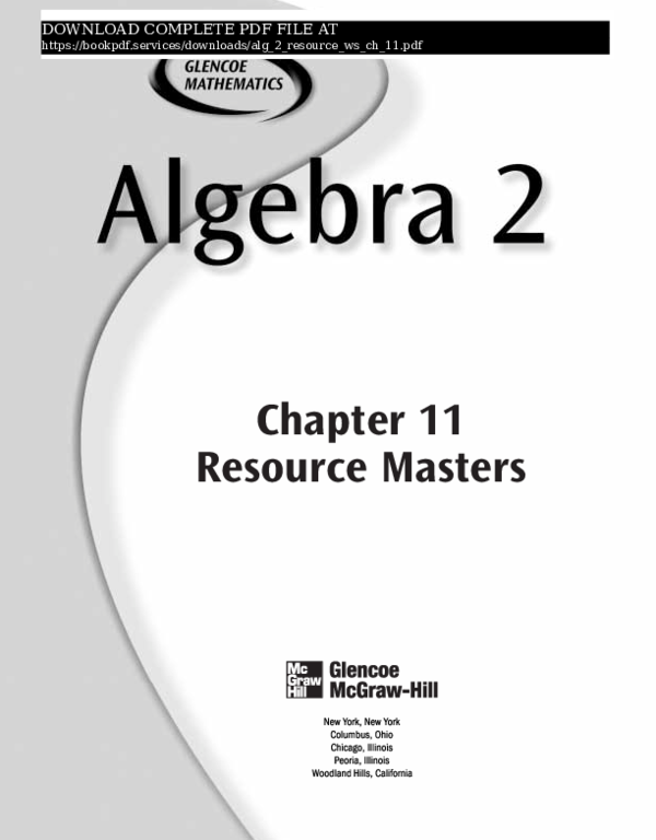 PDF) alg-2-resource-ws-ch-11-pdf_9981497 pdf | book P D F