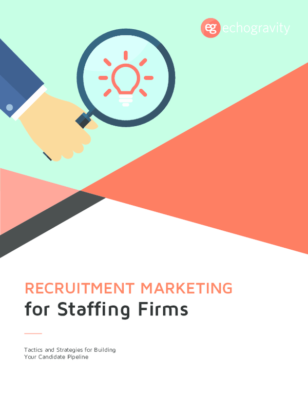 PDF) Recruitment Marketing for Staffing Firms Guide | Divya