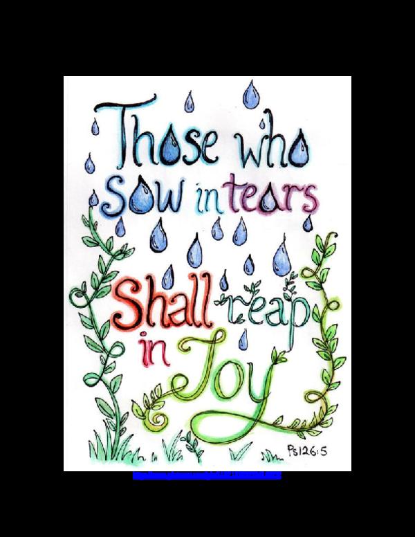 PDF) Seeking to be Singing Songs of Joy—Psalm 126   ERNST WENDLAND