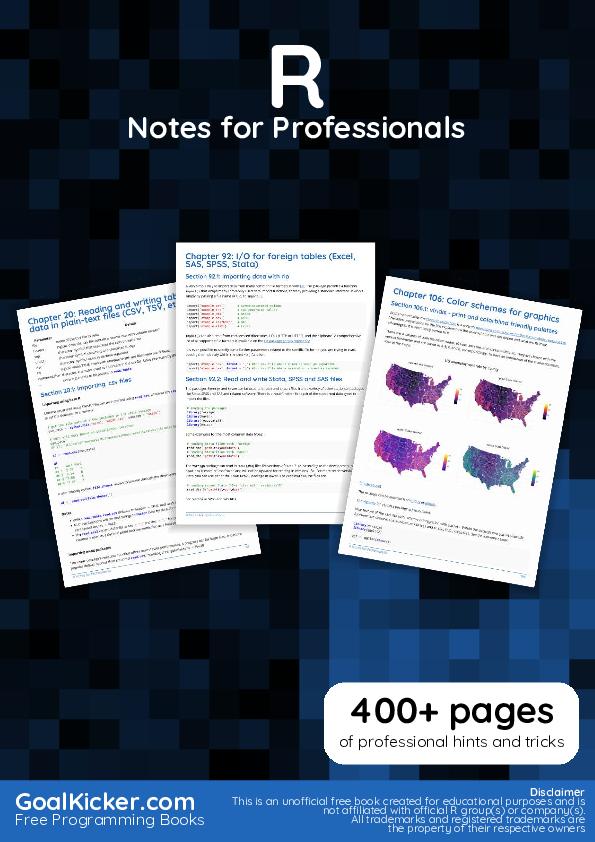 PDF) RNotesForProfessionals.pdf | sumbo marcus - Academia.edu