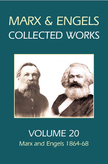 PDF) Marx & Engels Collected Works Volume 20_ M - Karl Marx