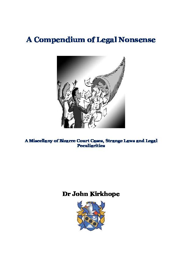 PDF) Compendium edited oct18.pdf   John Kirkhope - Academia.edu
