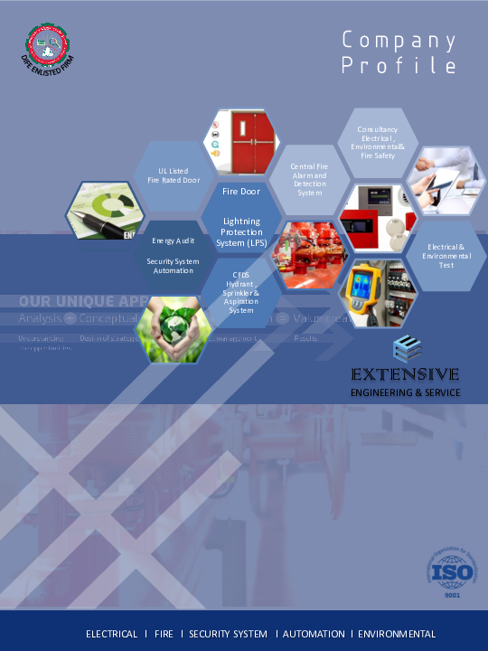 PDF) Company Profile of Extensive Engineering & Service | Taraque