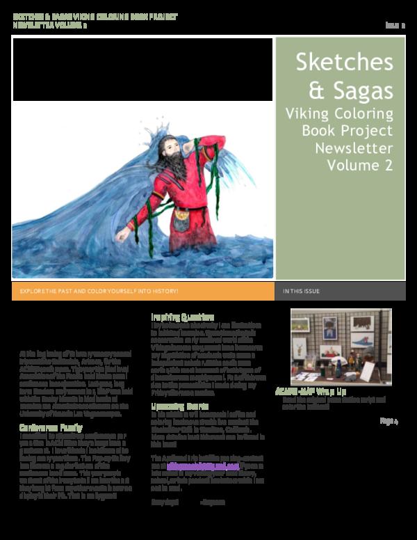 PDF) Sketches and Sagas Newsletter Vol2-2 pdf   Dayanna