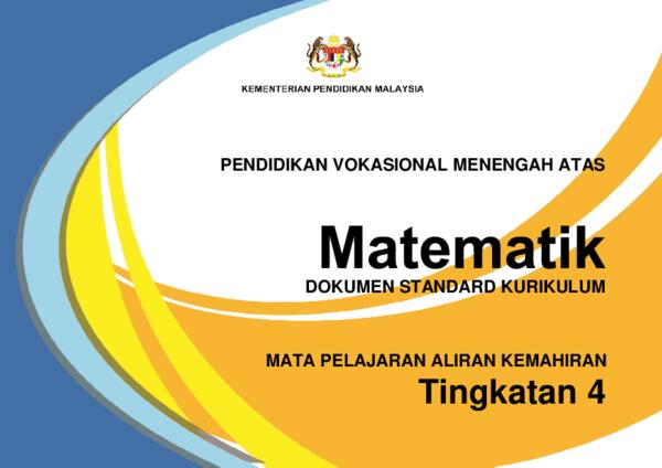 Pdf Matematik Mpak Tingkatan Abdul Hakim Abadi Bin Md Daud Academia Edu