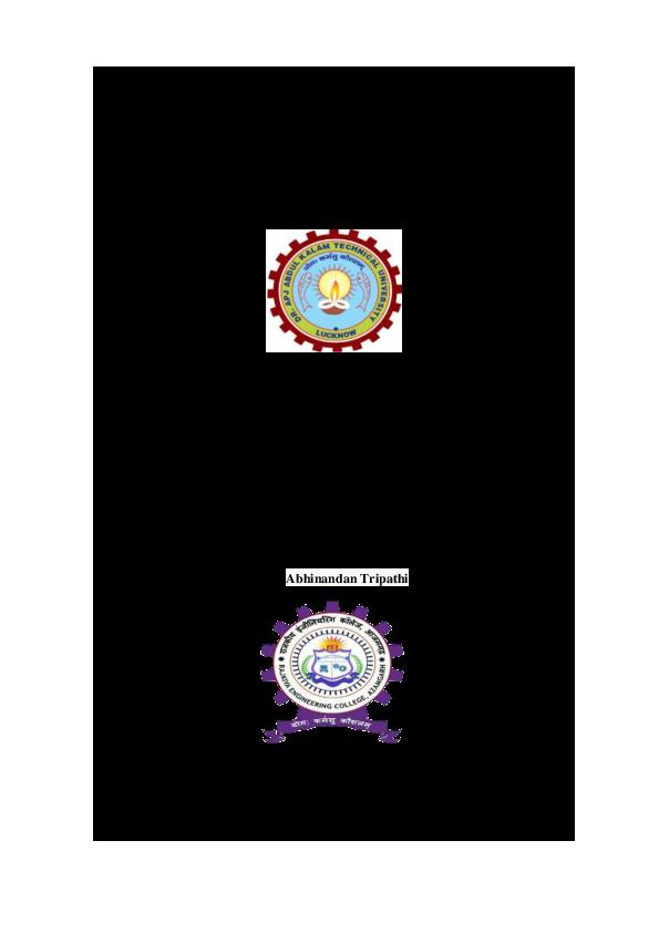 PDF) CHATBOT IN PYTHON | Garvit Bajpai - Academia edu