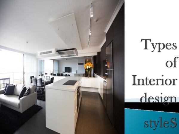 Ppt Types Of Interior Design Styles Rahul Singh Academia Edu