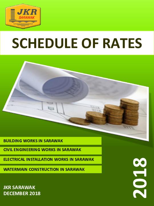 PDF) SCHEDULE OF RATES 2018 BUILDING WORKS IN SARAWAK CIVIL