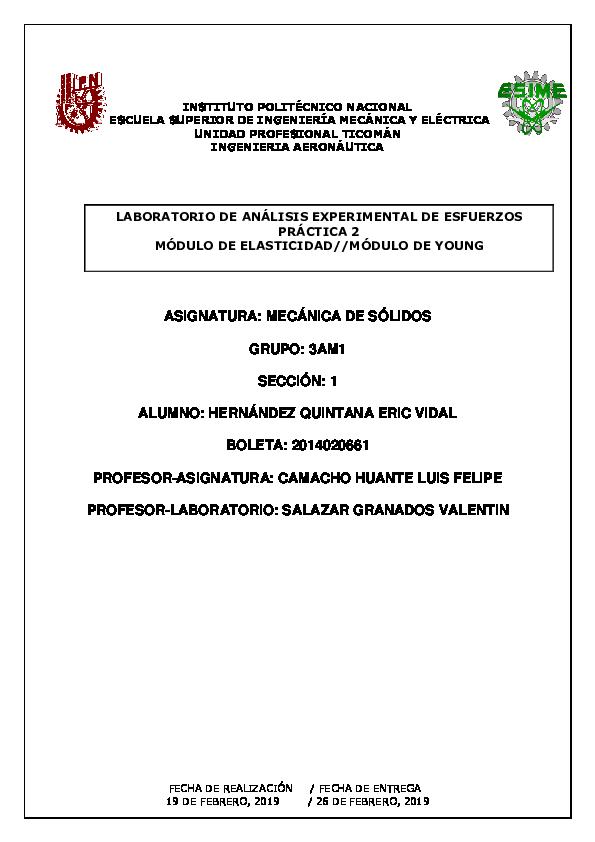Doc Modulo De Young Eric Vidal Academia Edu