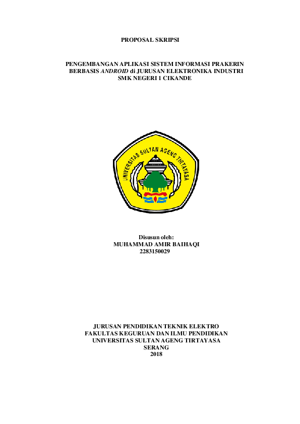 Doc Seminar Proposal Skripsi Docx Muhammad Amir Baihaqi Academia Edu