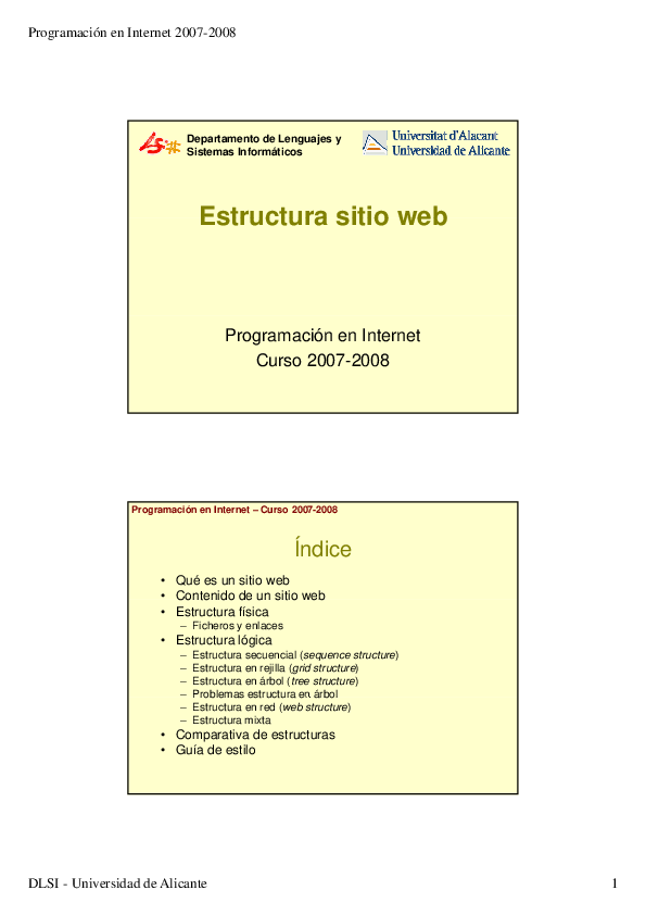 Pdf Estructura Sitio Web Estructura Sitio Web Programación