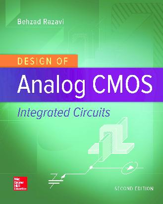 Pdf Design Of Analog Cmos Integrated Circuits Second Edition Padmanabham Buddepu Academia Edu