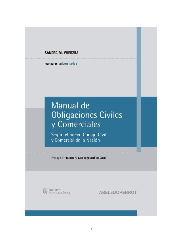 manual de obligaciones civiles y comerciales wierzba pdf