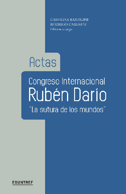 PDF) Actas Congreso Internacional: Rubén Darío,