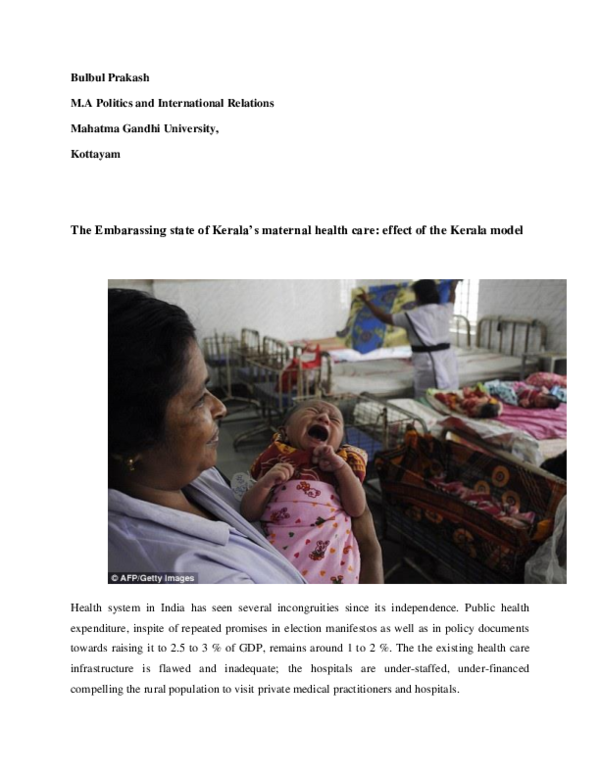 DOC) Obstetric violence | BULBUL PRAKASH - Academia edu