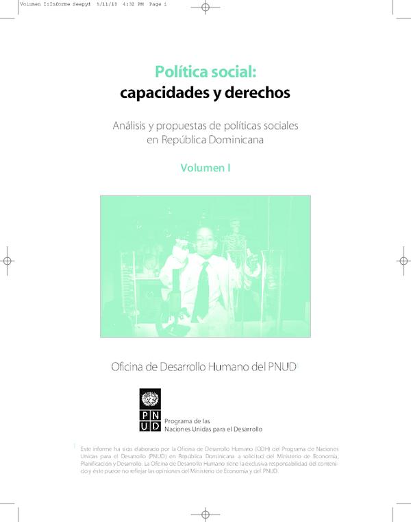 8706ba322711 PDF) Política social  capacidades y derechos. Análisis y propuestas ...