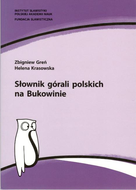 29acdc3d9339a PDF) Słownik górali polskich na Bukowinie | Zbigniew Greń - Academia.edu