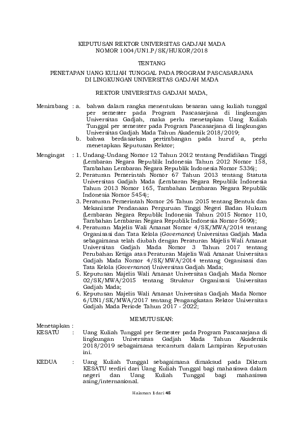 Apa Yang Dimaksud Dengan Uang Kuliah Tunggal - Info ...