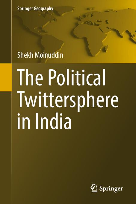 PDF) The Political Twittersphere in India | shekh moinuddin