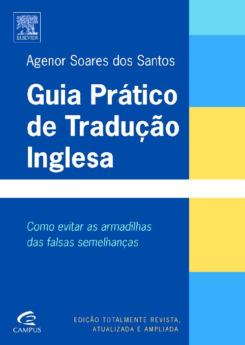 63516c643 PDF) Guia Prático de Tradução - Agenor Soares dos Santos | Vanessa M ...