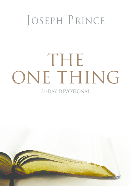 PDF) THE ONE THING 31-Day Devotional : Joseph Prince