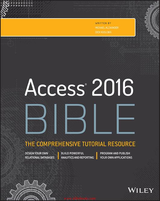 PDF) Access 2016 Bible | Samuel Chavez - Academia edu