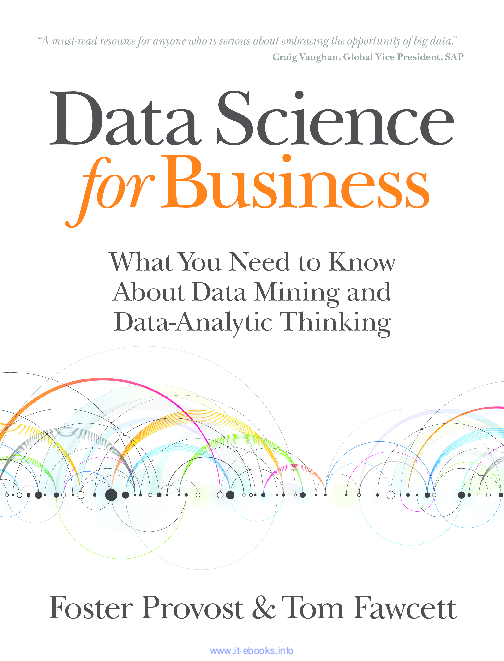 PDF) Data Science for Business | Kemeng WANG - Academia edu