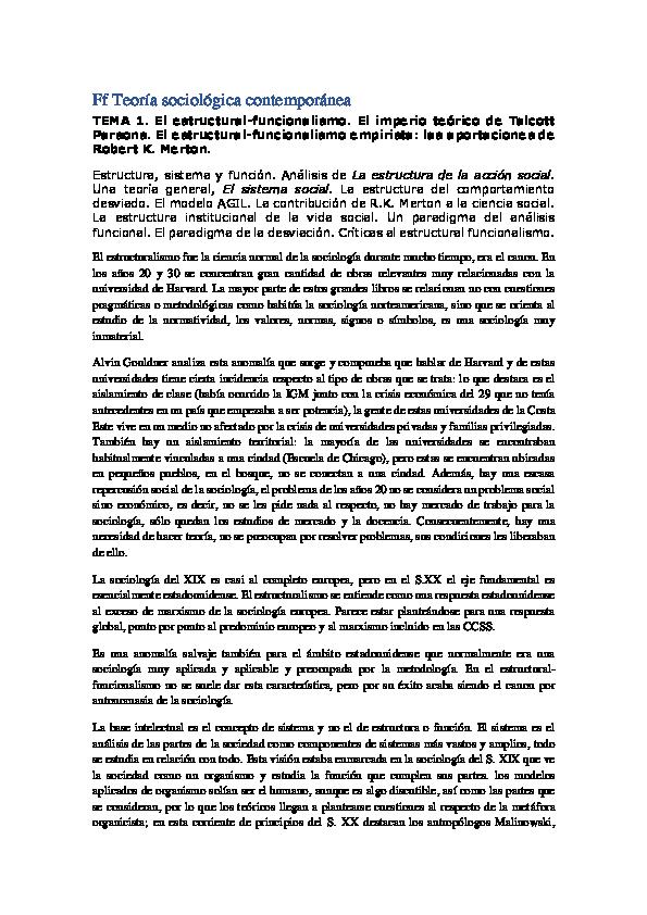 Doc Teoría Sociológica Contemporánea 5 Ana Jiménez