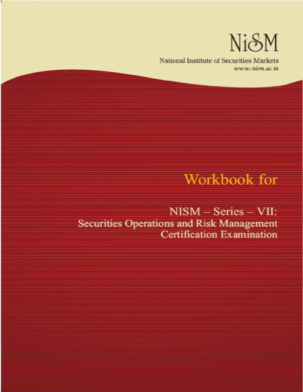 PDF) NISM Certification on Securities Operations and Risk