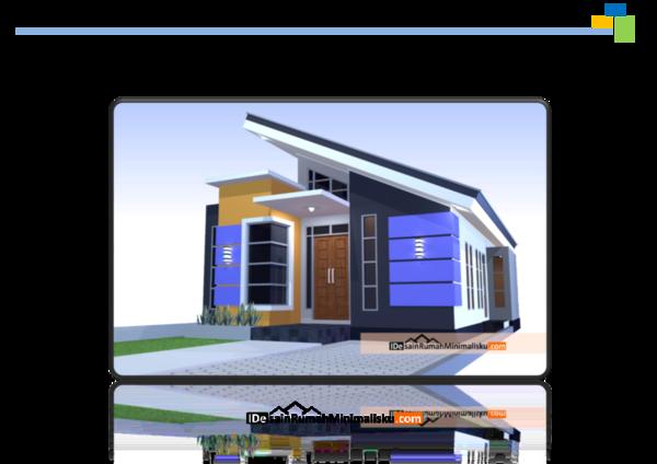 Pdf Gambar Kerja Desain Rumah Minimalis 3 Kamar Dandy Triady Academia Edu