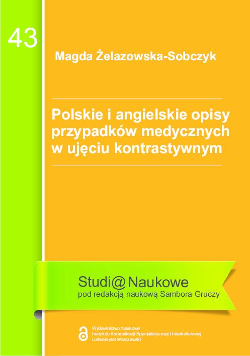 Pdf Polskie I Angielskie Opisy Przypadków Medycznych W