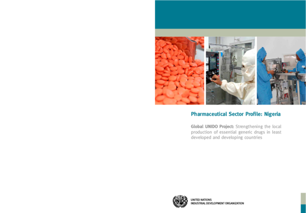 PDF) Pharmaceutical Sector Profile: Nigeria Pharmaceutical