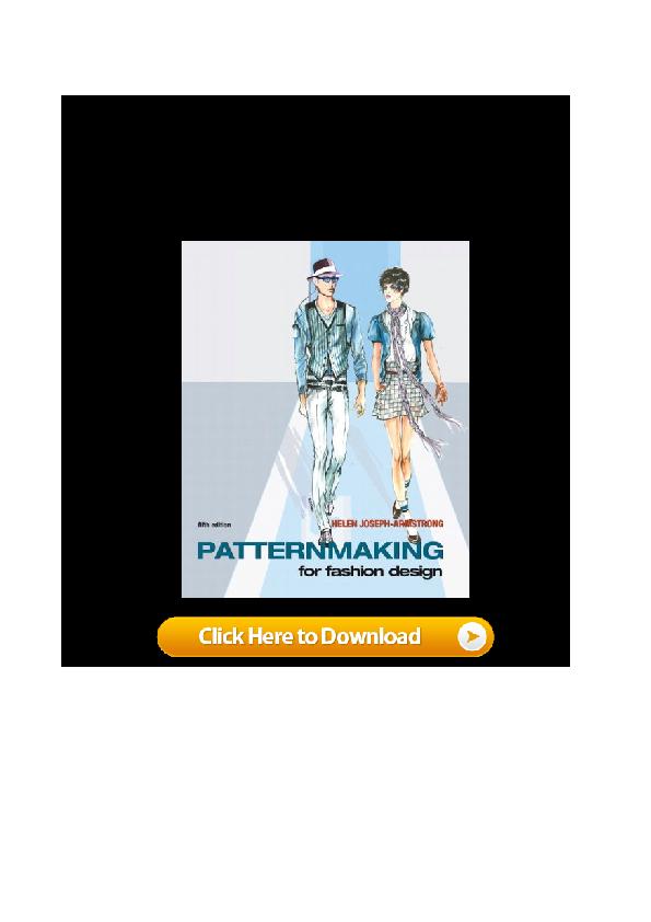 Pdf Pdf Book Patternmaking For Fashion Design 5th Edition Word Hf Blaky Rosle Academia Edu