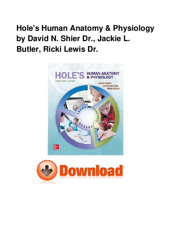 PDF) PDF Book Hole s Human Anatomy Physiology ZIP BY | yespu