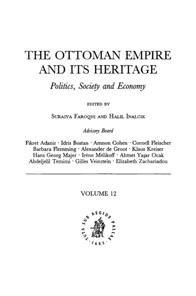 PDF) THE OTTOMAN EMPIRE AND ITS HERITAGE: Pan-Islamism in India