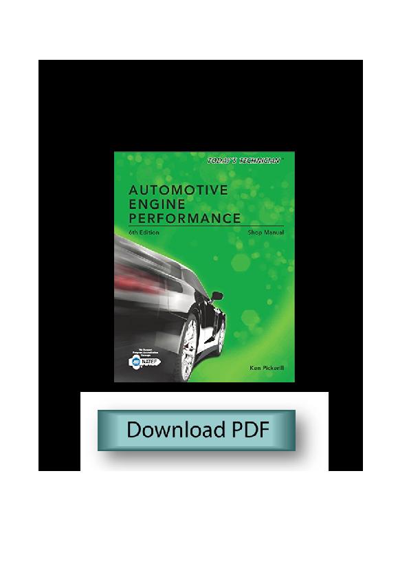 Automotive Engine Performance Todays Technician